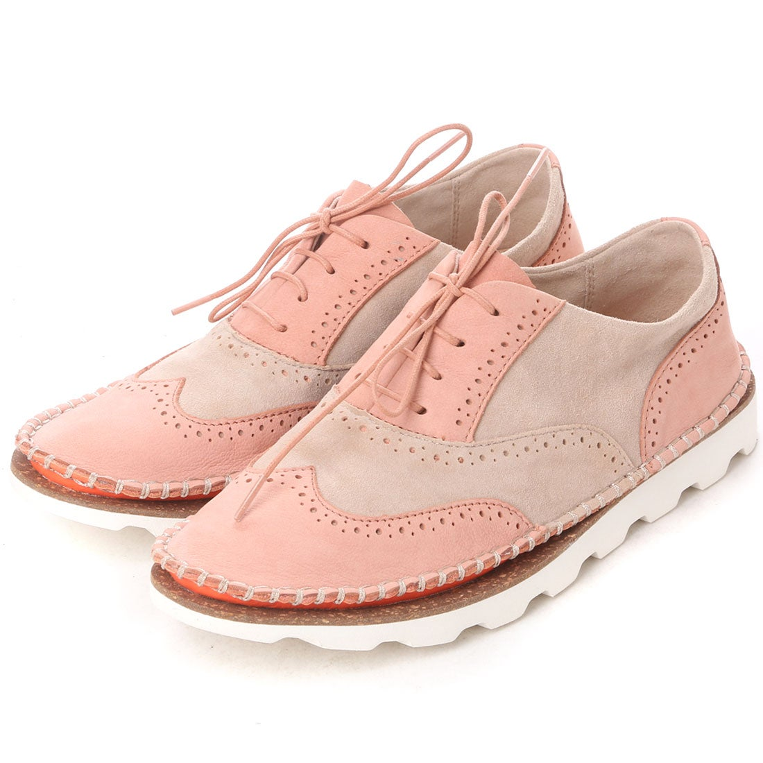 【SALE 52%OFF】クラークス Clarks Damara Rose Peach Combi (ピンク) レディース