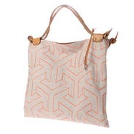 トプカピ TOPKAPI 【日本製】インド刺繍・A4トートバッグ (ピンク)