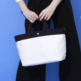 トプカピ TOPKAPI 【日本製】リプルフェイクレザー・A4トートバッグ (ホワイト)