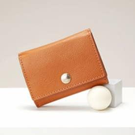 トプカピ TOPKAPI 角シボ型押し・三つ折りミニ財布 (キャメル)