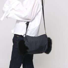ツモリチサト キャリー tsumori chisato CARRY ファーショルダーバッグ (ブラック)