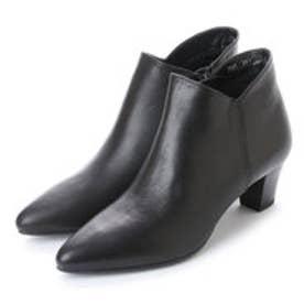メルモ MELMO ショートブーツ (ブラック)