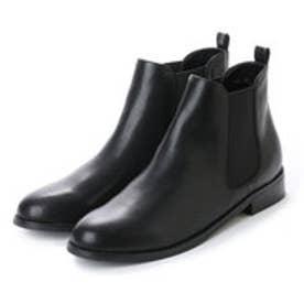 ワグ WAG 撥水サイドゴアショートブーツ (ブラック)