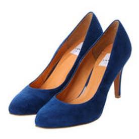 ランバン オン ブルー LANVIN en Bleu ラウンドトゥプレーンパンプス (ブルースエード)