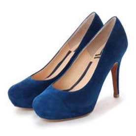 ランバン オン ブルー LANVIN en Bleu インストームプレーンパンプス (ブルーS)