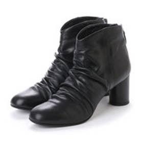 ツモリチサト ウォーク tsumori chisato WALK シャーリングショートブーツ (ブラック)