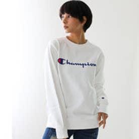 チャンピオン Champion 【Champion/チャンピオン】スウェット ロゴプリントトレーナー (ホワイト【010】)