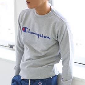 チャンピオン Champion 【Champion/チャンピオン】スウェット ロゴプリントトレーナー (オックスフォードグレー【070】)