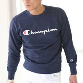 チャンピオン Champion 【Champion/チャンピオン】スウェット ロゴプリントトレーナー (ネイビー【370】)