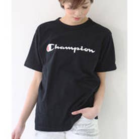 チャンピオン Champion 【Champion/チャンピオン】tシャツ ロゴプリント  Tシャツ (ブラック【090】)