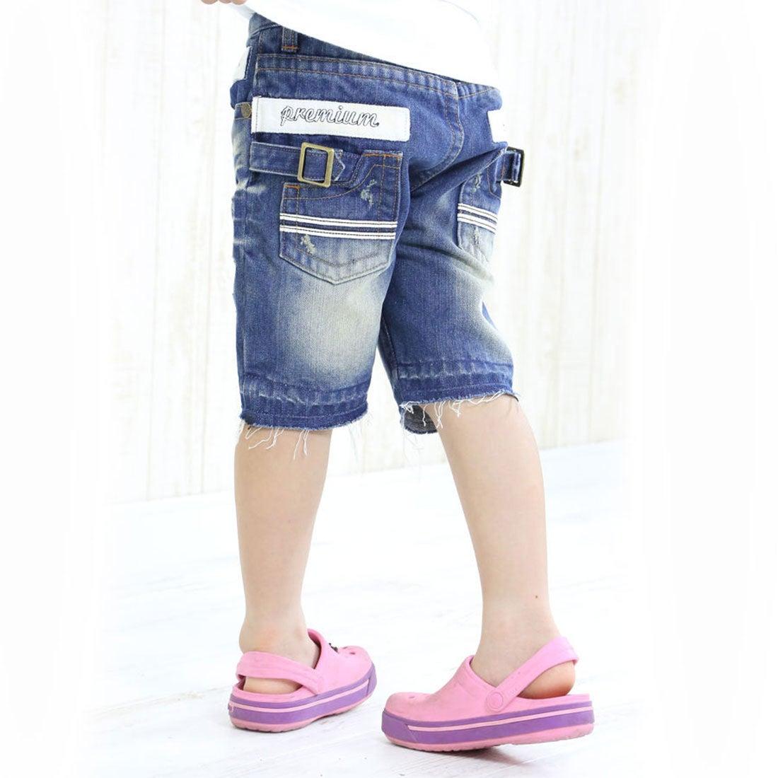7bd1a169072fc クラシカルエルフ Classical Elf キッズデニムショートパンツ子供服 男の子 女の子 (インディゴ) -靴&ファッション通販  ロコンド〜自宅で試着、気軽に返品
