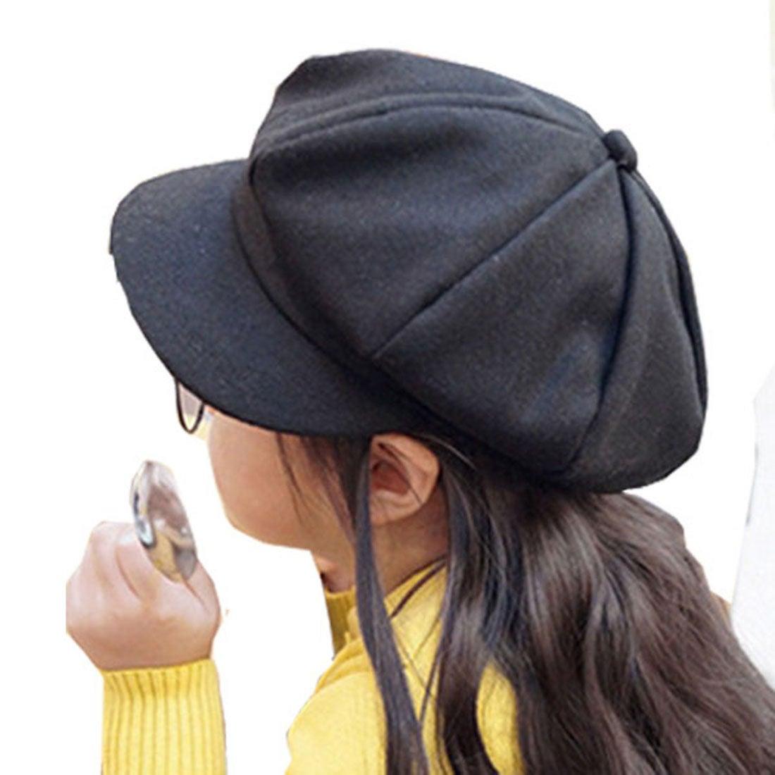 ロコンド 靴とファッションの通販サイトクラシカルエルフClassicalElfコロンとしたフォルムがかわいい♪キッズ8枚接ぎキャスケット(ブラック)