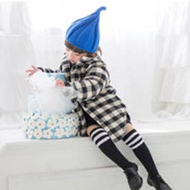 クラシカルエルフ Classical Elf とんがりニット帽 10色展開くるくるニット帽キッズ (サファイア)