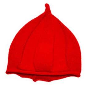 クラシカルエルフ Classical Elf とんがりニット帽 10色展開くるくるニット帽キッズ (レッド)