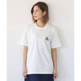 クラシカルエルフ Classical Elf ワンポイント刺繍 ベーシックTシャツ ビッグサイズ (ホワイト)