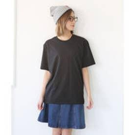 クラシカルエルフ Classical Elf ビッグサイズクルーネック無地Tシャツ (ブラック)