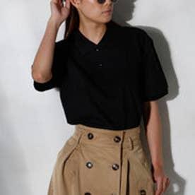 クラシカルエルフ Classical Elf ポロシャツ メンズ レディース 半袖 無地 (ブラック【005】)