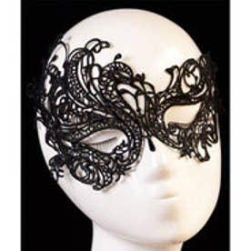 クラシカルエルフ Classical Elf 簡単仮装しかもセクシー!パーティにぴったり♪ブラックレースマスク (ブラック)