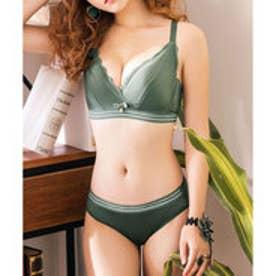 【返品不可商品】クラシカルエルフ Classical Elf 美胸 ショーツ ブラ セット (グリーン)