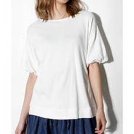 クラシカルエルフ Classical Elf ボリューム袖がかわいいドロップショルダーTシャツ (オフホワイト)