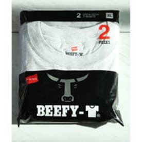 ヘインズ Hanes 【Hanes/ヘインズ】tシャツ 2枚組クルーネック(丸首)Tシャツ (ホワイト【010】)