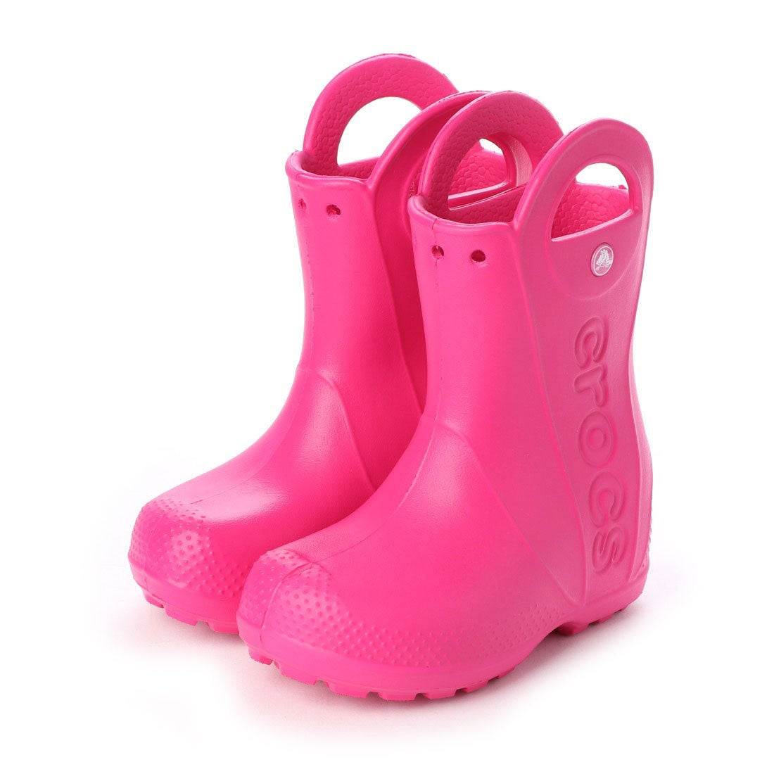 7fc806789af9e クロックス crocs 12803 ハンドルイット キッズ レインブーツ (キャンディピンク) -靴&ファッション通販 ロコンド〜自宅で試着、気軽に返品