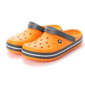 クロックス crocs 11016 CROCBAND CLOG クロックバンド クロッグ サンダル (ブレイジングオレンジ/スレートグレー)