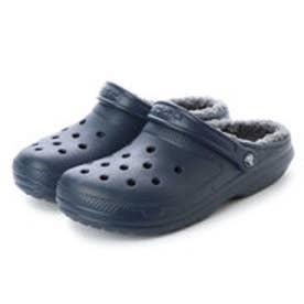 クロックス crocs 203591 クラシック ラインド (ネイビー×チャコール)