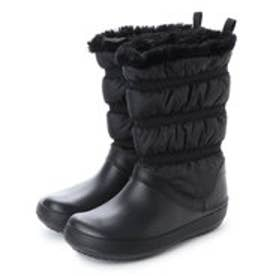 クロックス crocs 205314 ウイメンズ クロックバンド ウィンター ブーツ (ブラック)