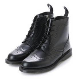 ドクターマーチン Dr.Martens デルフィーヌ 8ホール ブローグ ブーツ (ブラック)