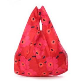 マリメッコ Marimekko スマートバッグ 折りたたみ エコバッグ (ミニウニッコレッド)