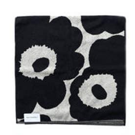 マリメッコ Marimekko ウニッコ ハンドタオル 100×50cm (ブラック×サンド)