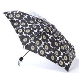 マリメッコ Marimekko 折りたたみ傘 (ミニウニッコブラック)