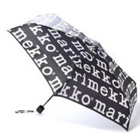 マリメッコ Marimekko 折りたたみ傘 (マリメッコロゴ)
