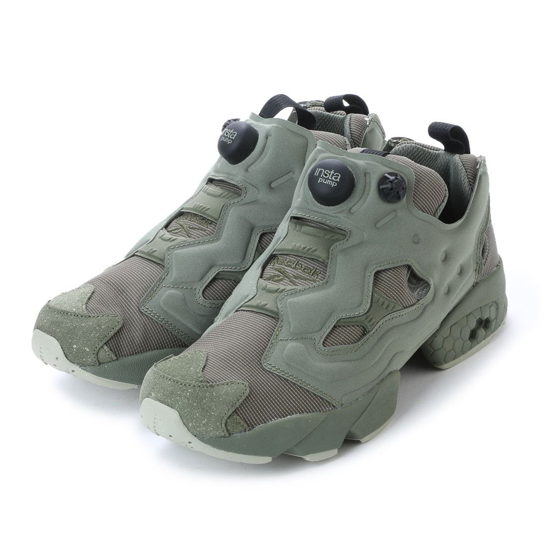 4e2e13d41e68e リーボック REEBOK インスタ ポンプ フューリー MTP (ハンターグリーン×グレー×ティール) -靴&ファッション通販  ロコンド〜自宅で試着、気軽に返品