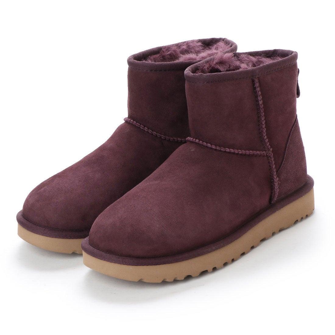 8c9c919a609 アグ UGG 1016222 W CLASSIC MINI 2 (ポート) -靴&ファッション通販 ...