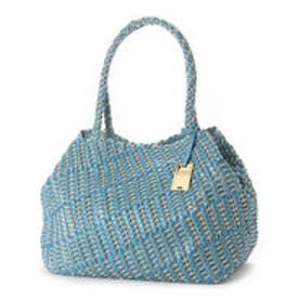 カル Cal 変形編み込みトートバッグ【A4サイズ対応】 (ライトブルー)
