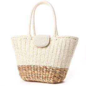 クーコ COOCO パールカブセトートバッグ (オフホワイト)