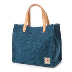 クーコ COOCO ヘンリボーントートバッグ (ブルー)