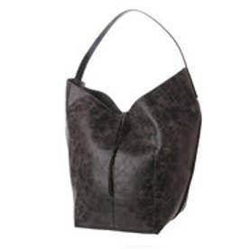 クーコ COOCO メタリック2WAYバッグ【A4サイズ対応】 (ブラック)
