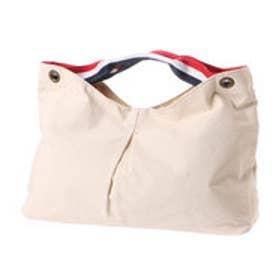 クーコ COOCO イカ型生地クリ手トートバッグ【A4サイズ収納】 (オフホワイト)
