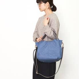 クーコ COOCO ナイロン2WAYトートバッグ (ブルー)