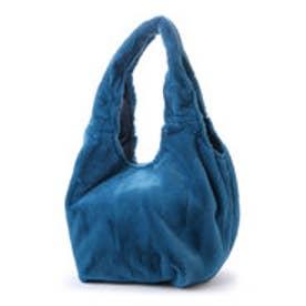 クーコ COOCO ファークリ手2WAYトートバッグ【A4サイズ対応】 (ブルー)