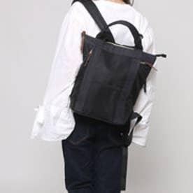 クーコ COOCO ナイロンリュック【A4サイズ対応】 (ブラック)