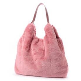 クーコ COOCO エコファー2WAYショルダーバッグ【A4サイズ対応】 (ピンク)