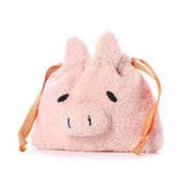 クーコ COOCO アニマル巾着 (ピンク)