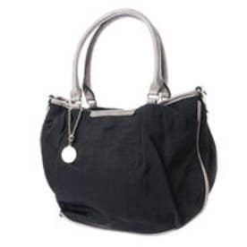 ナナノエル Nananoel beryl 2WAYナイロントートバッグ【A4サイズ対応】 (ブラック)