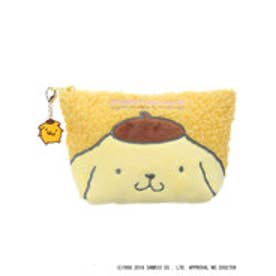 アースミュージックアンドエコロジー earth music&ecology Sanrio×earthふわふわポーチ (Yellow)