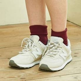 アースミュージックアンドエコロジー earth music&ecology newbalance×earth WL574 (Ivory)