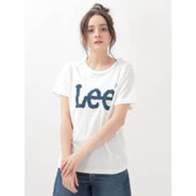 アースミュージックアンドエコロジー earth music&ecology LeeロゴTシャツ (White)